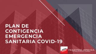 INDUSTRIAS JAPAN S.A. | Plan de contigencia emergencia sanitaria COVID-19